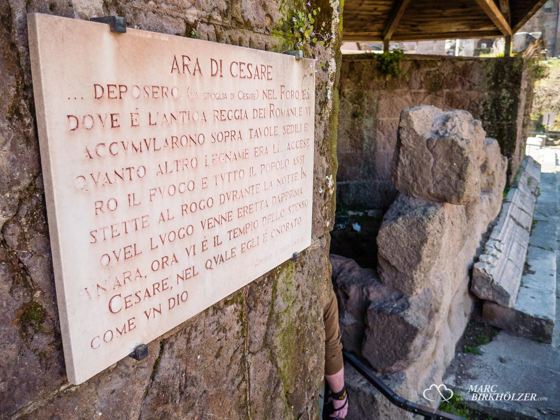Grabstätte vom Kaiser Caeser
